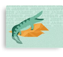 Tiktaalik is Talkative Canvas Print