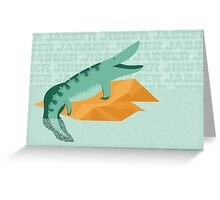 Tiktaalik is Talkative Greeting Card