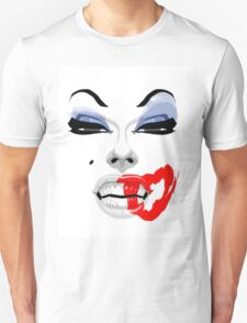 Your makeup is terrible.  T-Shirt