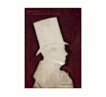 Robert Louis Stevenson - Strange Case of Dr. Jekyll and Mr. Hyde Art Print