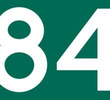 CA-84 - Woodside Sticker