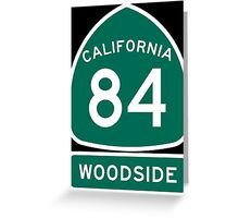 CA-84 - Woodside Greeting Card