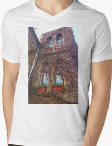 The reflection of the sky. Mens V-Neck T-Shirt