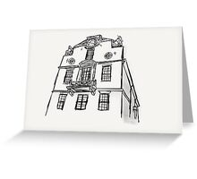 Boston State House Sketch Greeting Card