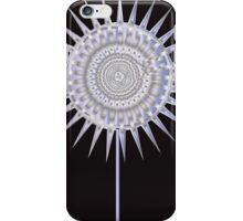 Art Deco Bloom No. 4 Lavender Sun Flower iPhone Case/Skin
