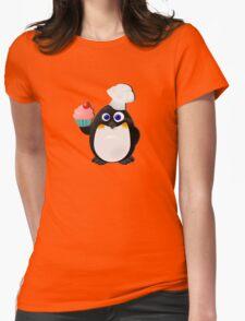 Baker Penguin With Cupcake T-Shirt