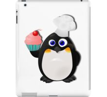 Baker Penguin With Cupcake iPad Case/Skin