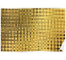 gold barock luxus baroque luxury noble Poster