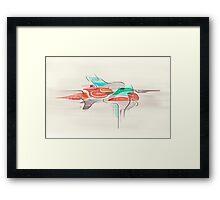 MANIFEST Framed Print