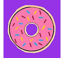 Pink Donut Photographic Print