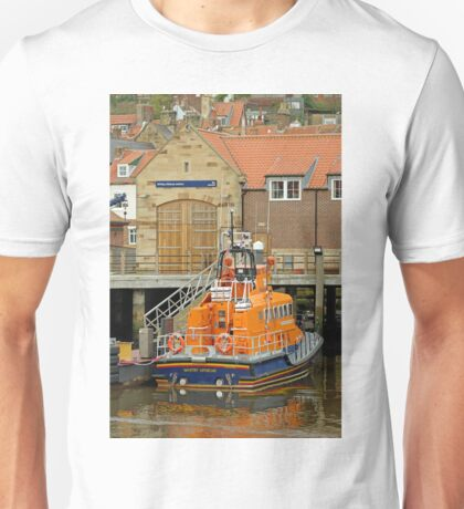 Whitby Lifeboat and Lifeboat Station Unisex T-Shirt
