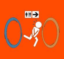 Portal toilet Kids Tee
