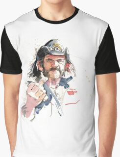Lemmy. Lead singer of Motorhead. Graphic T-Shirt