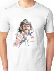 Lemmy. Lead singer of Motorhead. Unisex T-Shirt