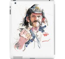 Lemmy. Lead singer of Motorhead. iPad Case/Skin