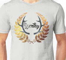 Crowned Worthy Light Unisex T-Shirt
