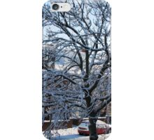 A Winter Street Scene iPhone Case/Skin
