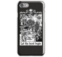 Bloodborne - Let the hunt begin iPhone Case/Skin