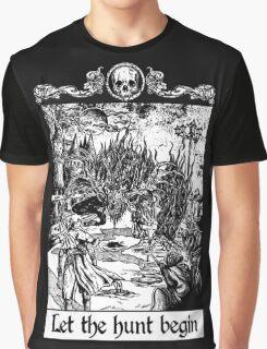 Bloodborne - Let the hunt begin Graphic T-Shirt