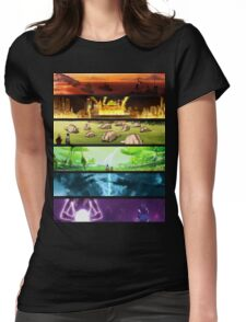 Korra Spirits (Any Color!) Womens Fitted T-Shirt