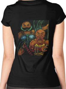 """""""The Stinging Storm II (Geared for War) Women's Fitted Scoop T-Shirt"""