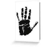 Handprint Greeting Card