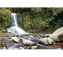 Waiau Falls Photographic Print
