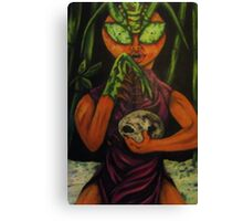 """Miss Morphing Mantis"" Canvas Print"
