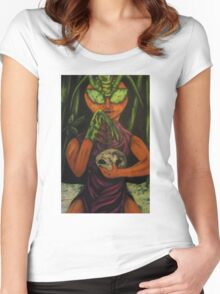 """Miss Morphing Mantis"" Women's Fitted Scoop T-Shirt"