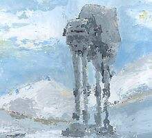 Hoth Fanart by colleenpalmer