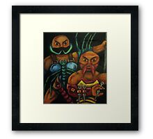 """The Stinging Storm II (Geared for War) Framed Print"