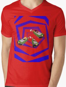 Day of the Tentacle - Time Machine  Mens V-Neck T-Shirt