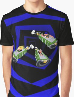 Day of the Tentacle - Time Machine  Graphic T-Shirt