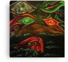 Lachrymology V: Treasures of the Hybrid Community Canvas Print