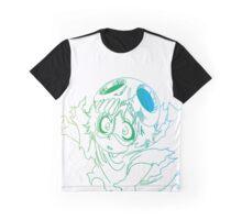 Bleach Neliel Color Outline Graphic T-Shirt