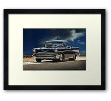1957 Chevrolet Bel Air 'Serious Business' II Framed Print