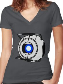 Wheatley Women's Fitted V-Neck T-Shirt