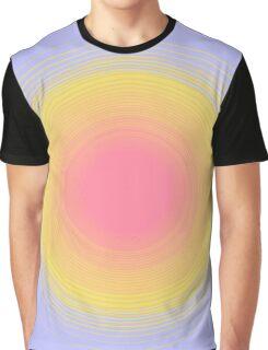 Color Gradient Graphic T-Shirt