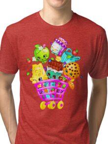 Shopkins basket Tri-blend T-Shirt