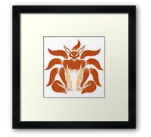 9 Tailed Shinobi Framed Print