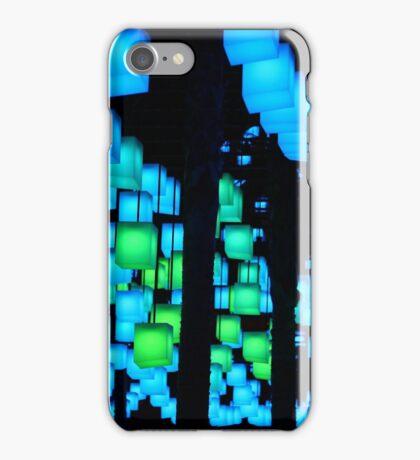 Cube Lights  iPhone Case/Skin