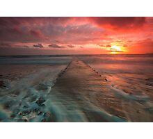 St Clement sundown by Gary Power Photographic Print