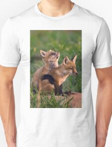 Fox Cub Buddies Unisex T-Shirt
