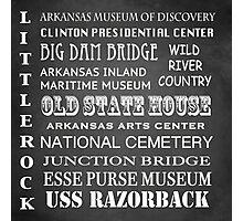 Little Rock Famous Landmarks Photographic Print