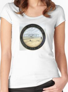 Official Seal of NACA, 1915-1958 Women's Fitted Scoop T-Shirt