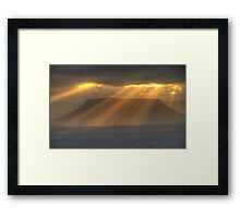 Blessing - Capertee Valley, West Of Sydney - The HDR Experience Framed Print