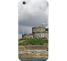 St Mawes Castle from the Ferry iPhone Case/Skin