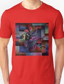 An Explosion of Color - Curving Machine by Molzahn T-Shirt