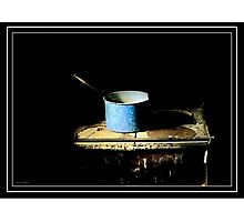 Simple Cooking Photographic Print