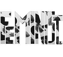 Feminist Text Photographic Print